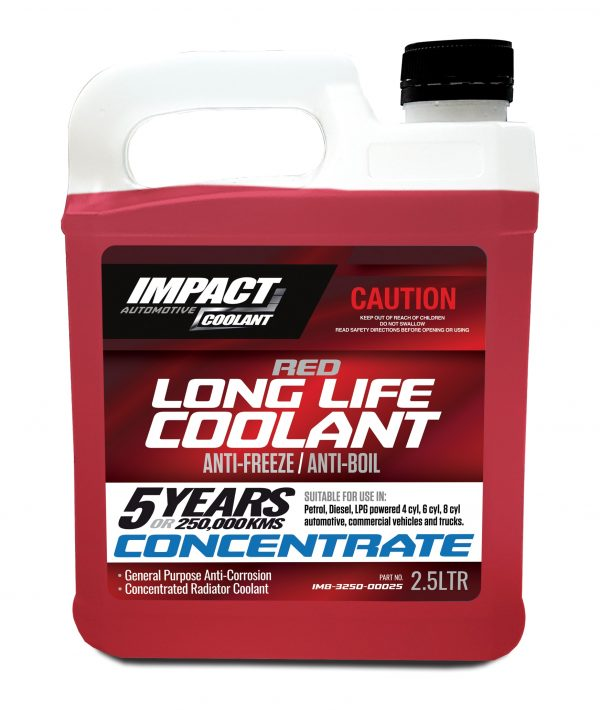 RED LONG LIFE COOLANT2.5